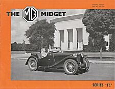 MG MIDGET SERIES TC ORIGINAL NUFFIELD EXPORTS SALES BROCHURE NEL 73A