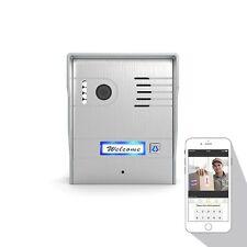 Global Video Door Phone HD IP Camera Android iPhone Weather Resistant Doorbell