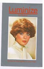 LUMINIZE HAIR COLOR BY CLAIROL ADVERTISING POSTCARD # 232-130