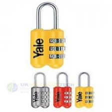 Yale Zinc Body Travel Lock Luggage Padlock (Random Colour) YP2/23/128/1