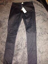 "Quiksilver Womens Dark Denim Jeggings 25"" (6/8) BNWT  £80"