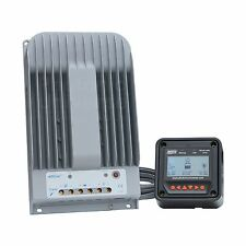High efficiency 40A MPPT solar charge controller with LCD monitor for up to 150V