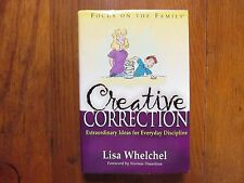 "LISA  WHELCHEL  Signed  Book (""CREATIVE  CORRECTION""-2000  1st Edition Hardback)"