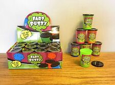 12 NEW FART PUTTY SLIME GAG GIFT FARTING NOISE MAKER BIRTHDAY PARTY FAVOURS