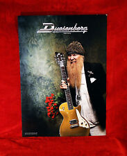 "ZZ Top ""Billy Gibbons"" Duesenberg Guitars Promo Poster"
