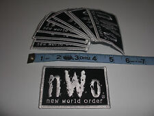 10 Vintage '98 NWO NEW WORLD ORDER Wrestling clothing Patch Lot WCW WWE WWF Hulk