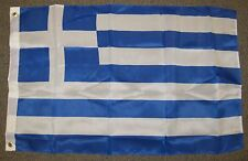 GREECE FLAG 2X3 FEET GREEK COUNTRY NATION BANNER NEW F490
