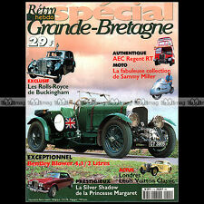 RETRO HEBDO HS1 SAMMY MILLER COVENTRY EAGLE BENTLEY BLOWER AUTOBUS AEC REGENT RT