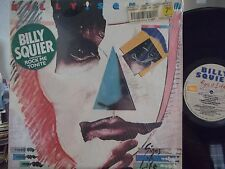 BILLY SQUIER SIGNS OF LIFE LP ON CAPITOL RECORDS BRIAN MAY, LYRIC INNER SLEEVE