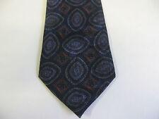 58 x 3-1/2 Black Blue Red Tie Necktie EMPIRE Free US Ship (7082)
