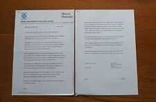 1974 Land Rover British Leyland Press Release Belgian Army Contract