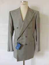 St SAINT ANDREWS doublebreasted suit HAND MADE man uomo abito it 52 uk 42 us L