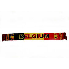 BELGIUM COUNTRY FLAG THICK SCARF.. NEW