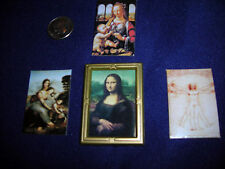 Miniature Art Master Prints with Frame - MOST UNUSUAL