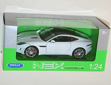 Welly - JAGUAR F-TYPE Coupe (White) Die Cast Model - Scale 1:24