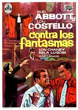 (PRESS BOOK BROCHURE ORIGINAL) BUD ABBOTT Y LOU COSTELLO CONTRA LOS FANTASMAS