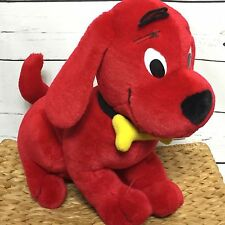 "Clifford The Big Red Dog Plush Stuffed Animal by Toy Island 14"" long"
