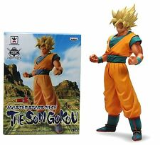 Banpresto dragon ball goku ss master stars piece MSP figure super saiyan New box