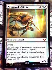 MTG 1x ARCHANGEL OF STRIFE - M/NM (FOIL) - FROM THE VAULT: ANGELS Mythic Rare