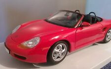 UT models ~ Porsche ~ Boxster Convertible ~1:18 Scale ~ Red