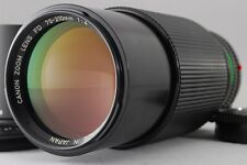 【NEAR MINT】 Canon New FD NFD 70-210mm f/4 Manual Focus Lens Hood from Japan #28