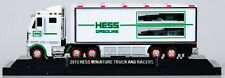 2013 Hess Miniature Truck and Racers - 100% Mint-in-Box  - 2013 Hess Mini