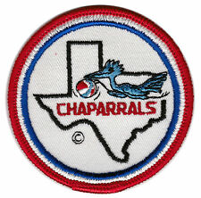 "1970'S DALLAS CHAPARRALS ABA BASKETBALL 3"" DEFUNCT TEAM PATCH"