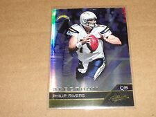 2011 Absolute PHILIP RIVERS #82 Spectrum Gold SP/25 San Diego CHARGERS NC State