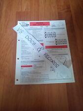 FICHE TECHNIQUE AUTOMOBILE RTA MAZDA 626 1.8 i 07.97  (CL 15)