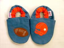 NUOVO di zecca morbida pelle scarpe per bambino 0-6 LAV FOOTBALL AMERICANO motivo Ragazze/Ragazzi