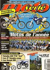 MOTO VERTE 304 KTM 250 EGS 125 SX HUSQVARNA 610 TE HONDA 400 XR YAMAHA 400 YZF