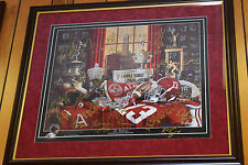 Tide Traditions signed Amari TJ Norwood Henry 26 Alabama Football autographs