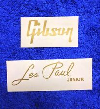 Gibson Les Paul Junior Guitar Headstock Decal Sticker Logo Sticker  Repair
