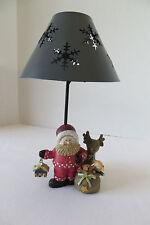 Giftco Santa & Reindeer Tea Light Candle Holder