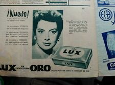 CLIPPING ADS DEBORAH KERR 1959 LUX SOAP