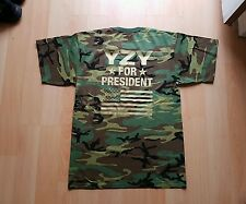 YZY for President Shirt Yeezy Camo Bape Ultra Boost NMD 350 750 Oxford Tan Black