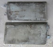1961 Cadillac Coupe Back of Front Seat Trim Pad Panels (2) LH & RH Orig 61 62 63