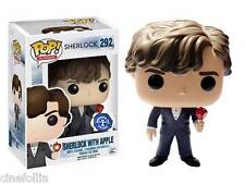Figura vinile Sherlock Holmes with Apple Pop! Funko Vinyl figure n° 292