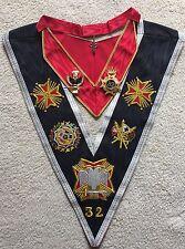 Rose Croix 32 Degree Collar ' Collar Jewel' Collarette And Collarette Jewel