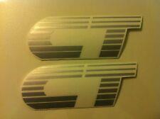 Stickers autocollants monogramme Peugeot 205 CT gris grey