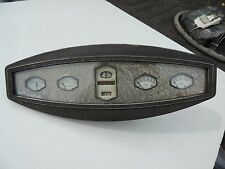 VINTAGE 1920's 1929 DURANT ORIGINAL DASH GAUGE CLUSTER SPEEDO - HOT ROD RAT ROD