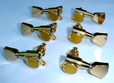 Gotoh SG381-04G Guitar Machine Heads / Tuners Gold Plated - Set of 6