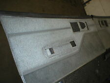 1982 - 92 Camaro Firebird Grey Rug / Cloth Combo Door Panels 85 86 87 88 89 90