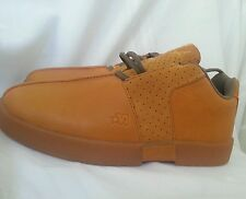 MECCA footwear men's casual shoes size 7, light Brown/orange, leather