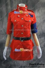 Hellsing Cosplay Seras Victoria Red Uniform Costume H008