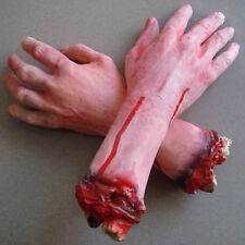 Blutige Abgetrennte Hand Körperteile Halloween Deko Grusel Horror Schocker Neu