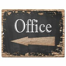 PP0467 Office Retro Chic Sign Bar Pub Shop Store Cafe Restaurant Decor Sign