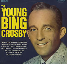 "The Young Bing Crosby 1971 LP 12"" 33rpm UK rare vinyl record (very good/ good+)"
