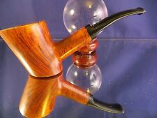 Bjarne canted Poker sitter HANDMADE in Denmark non-filter briar pipe stock #B8