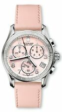 Victorinox Swiss Army Women's Chrono Mother of Pearl Swiss Quartz Watch 241419